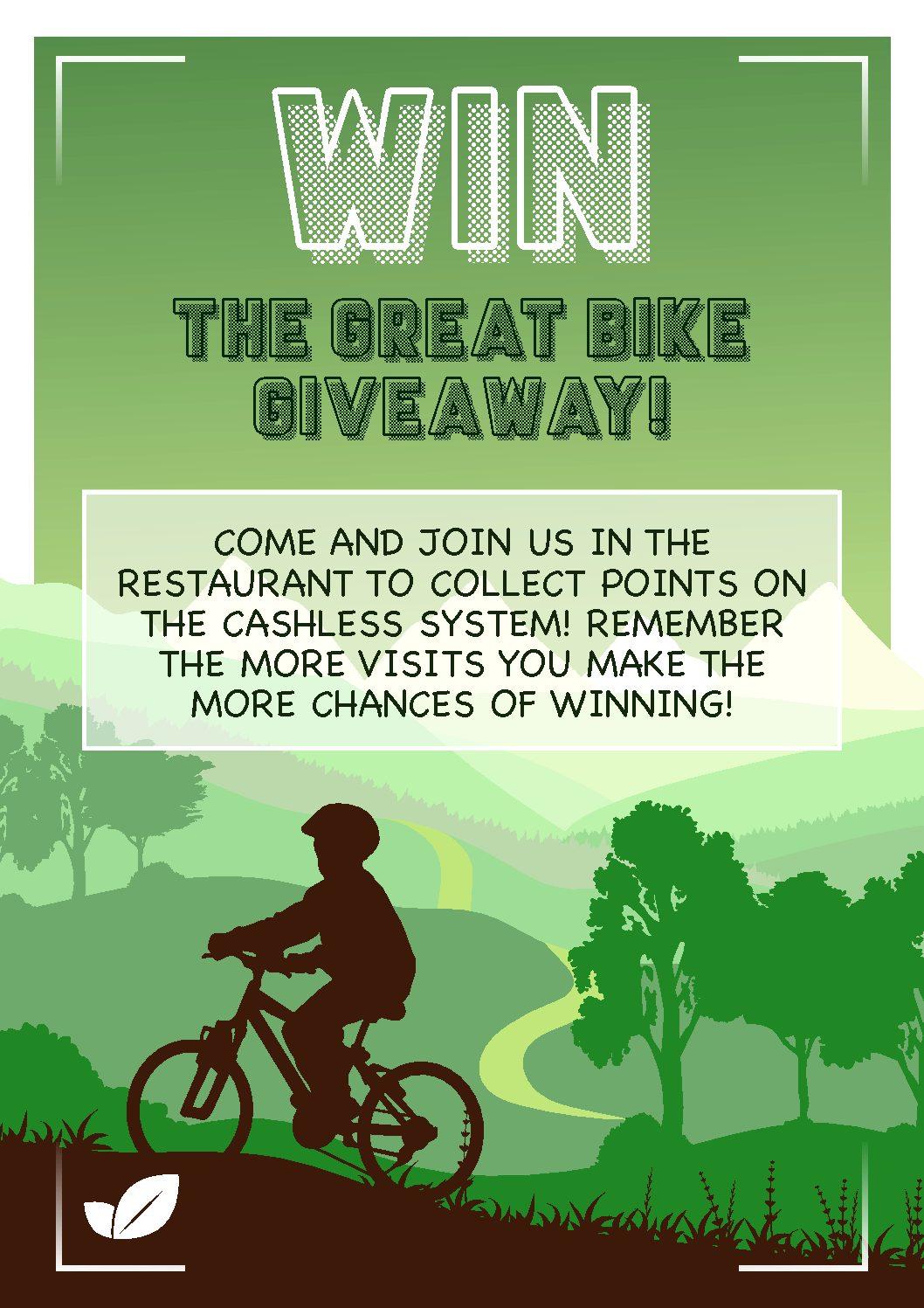 Great Bike Giveaway!